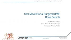 Presentation Marx OMF Bone Defects